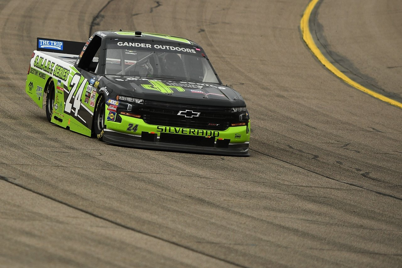 Brett Moffitt at Iowa Speedway