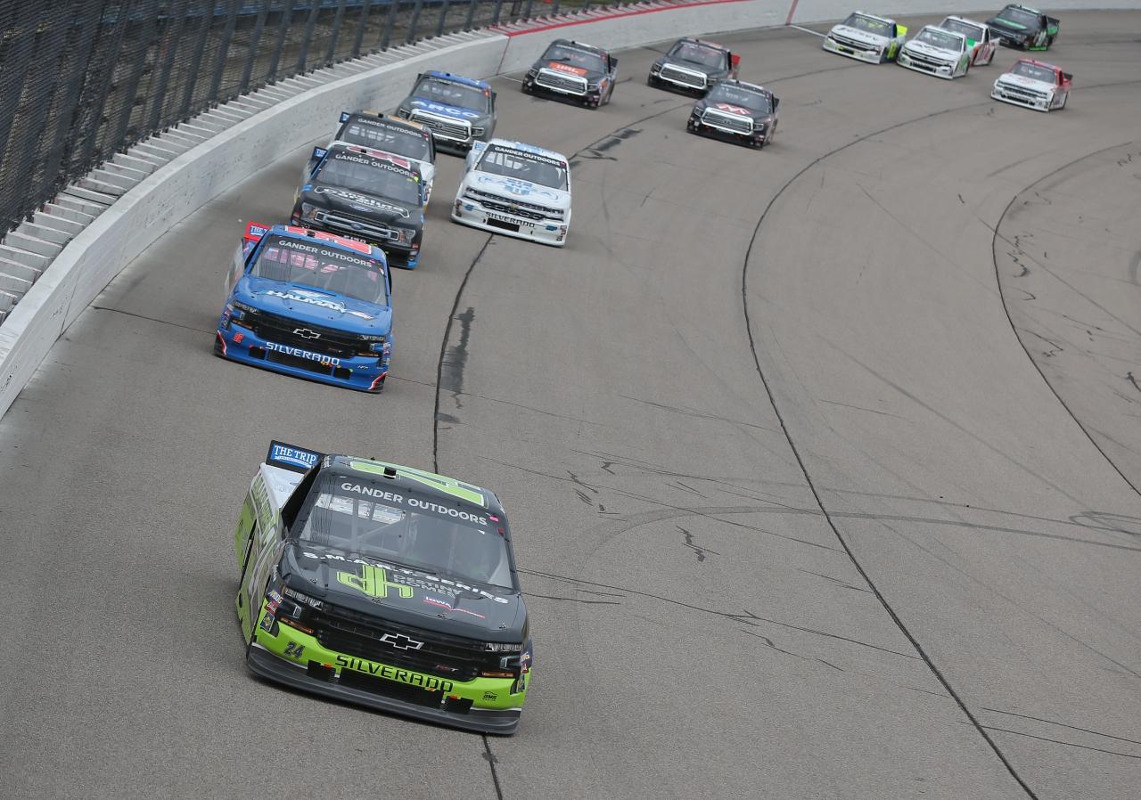 Brett Moffitt at Iowa Speedway - NASCAR Truck Series