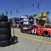Daniel Suarez in the NASCAR Garage Area