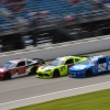 David Starr, Brandon Jones and Christopher Bell at Chicagoland Speedway