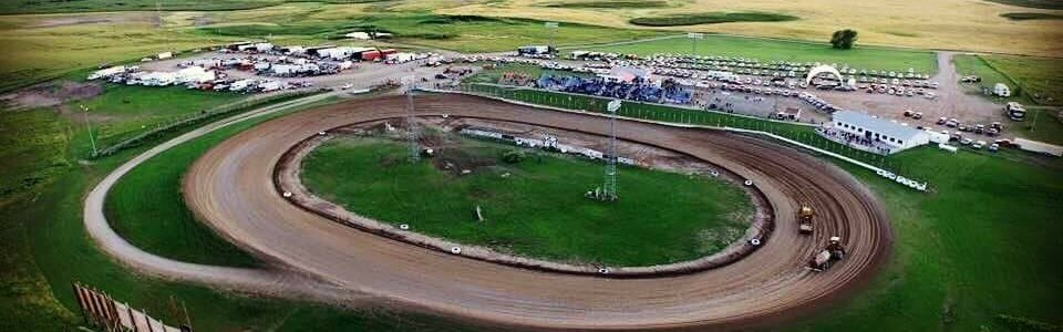 Devils Lake Speedway: Dirt track for sale