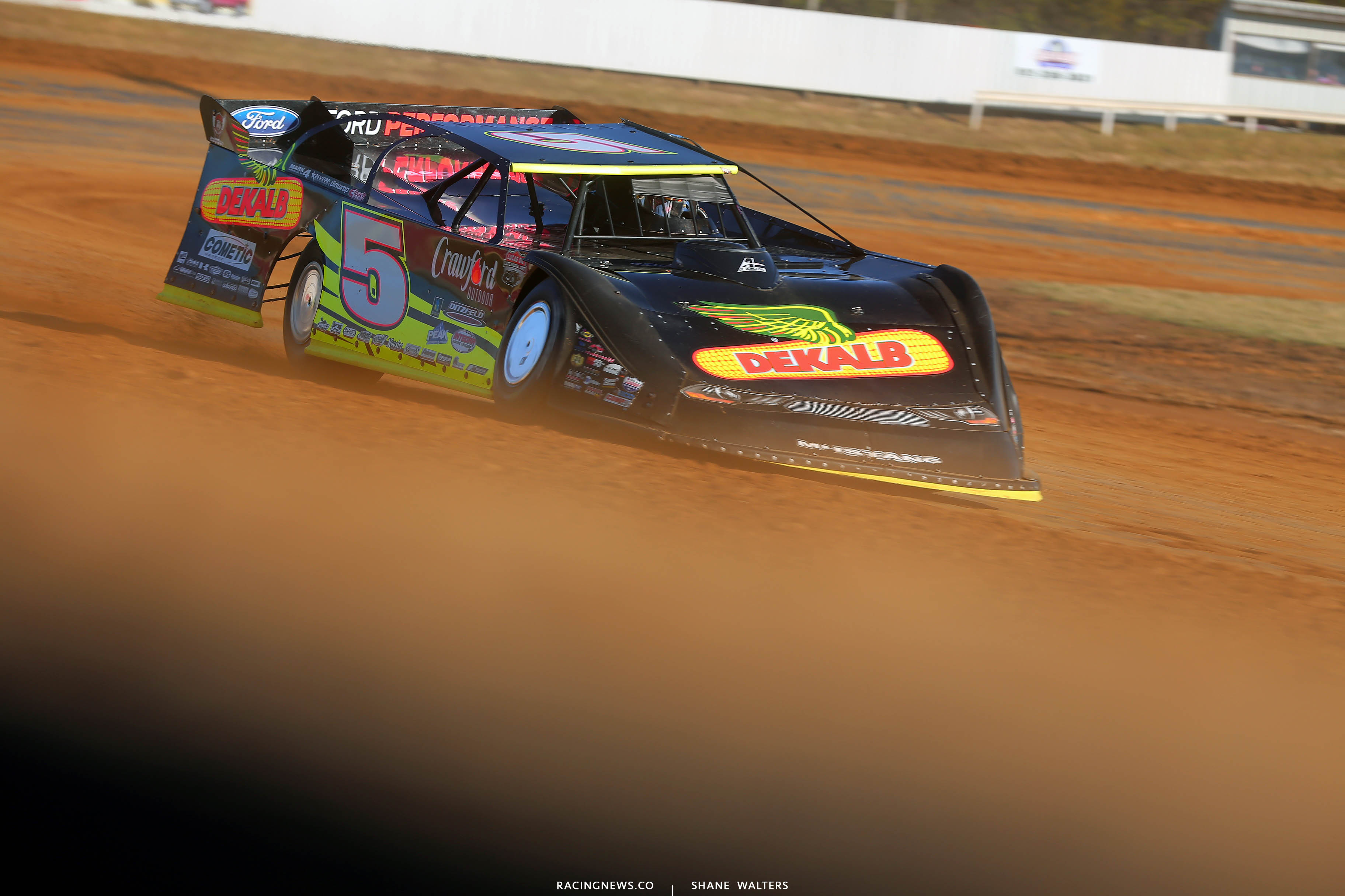 Don O'Neal at Brownstown Speedway 0510