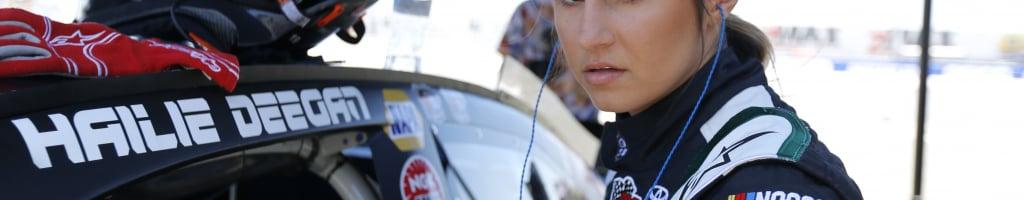 Hailie Deegan vs Todd Souza; Driver issues warning of retaliation