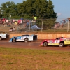 Hudson O'Neal, Josh Richards, Kody Evans and Tim McCreadie at Florence Speedway - Lucas Oil Late Model Dirt Series 6942