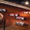 Jonathan Davenport, Tim McCreadie and Brandon Overton at Cherokee Speedway 5589