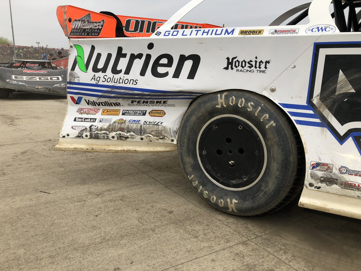 Jonathan Davenport at Eldora Speedway