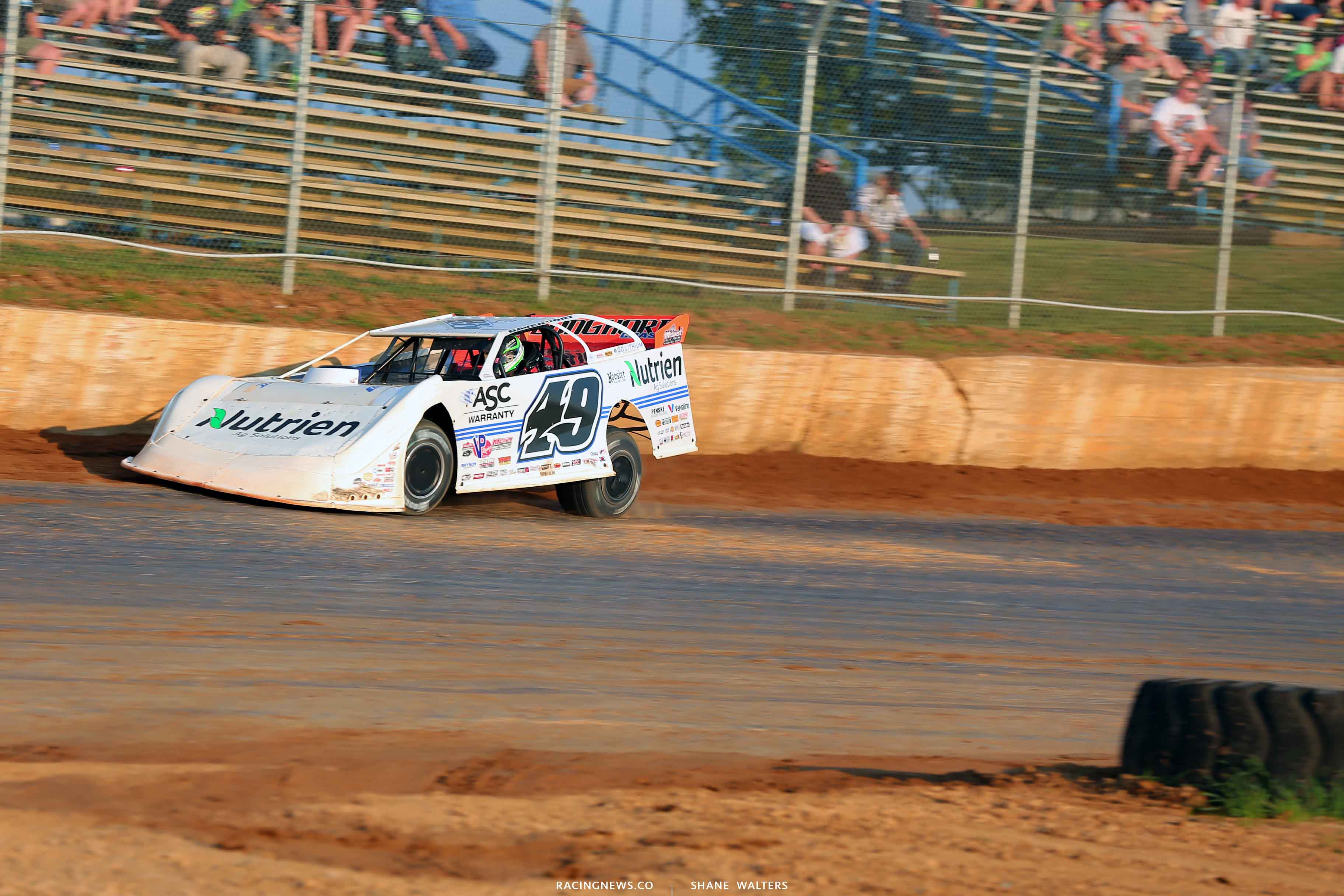 Jonathan Davenport at Florence Speedway 6984