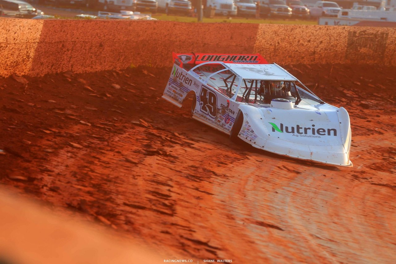 Jonathan Davenport at Smoky Mountain Speedway 5828