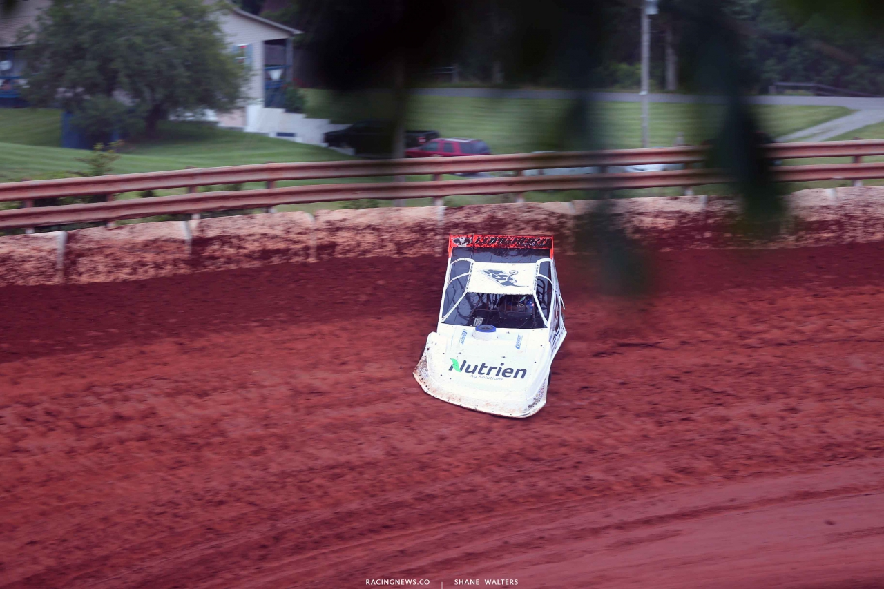 Jonathan Davenport at Tazewell Speedway - Lucas Oil Late Model Dirt Series 6268