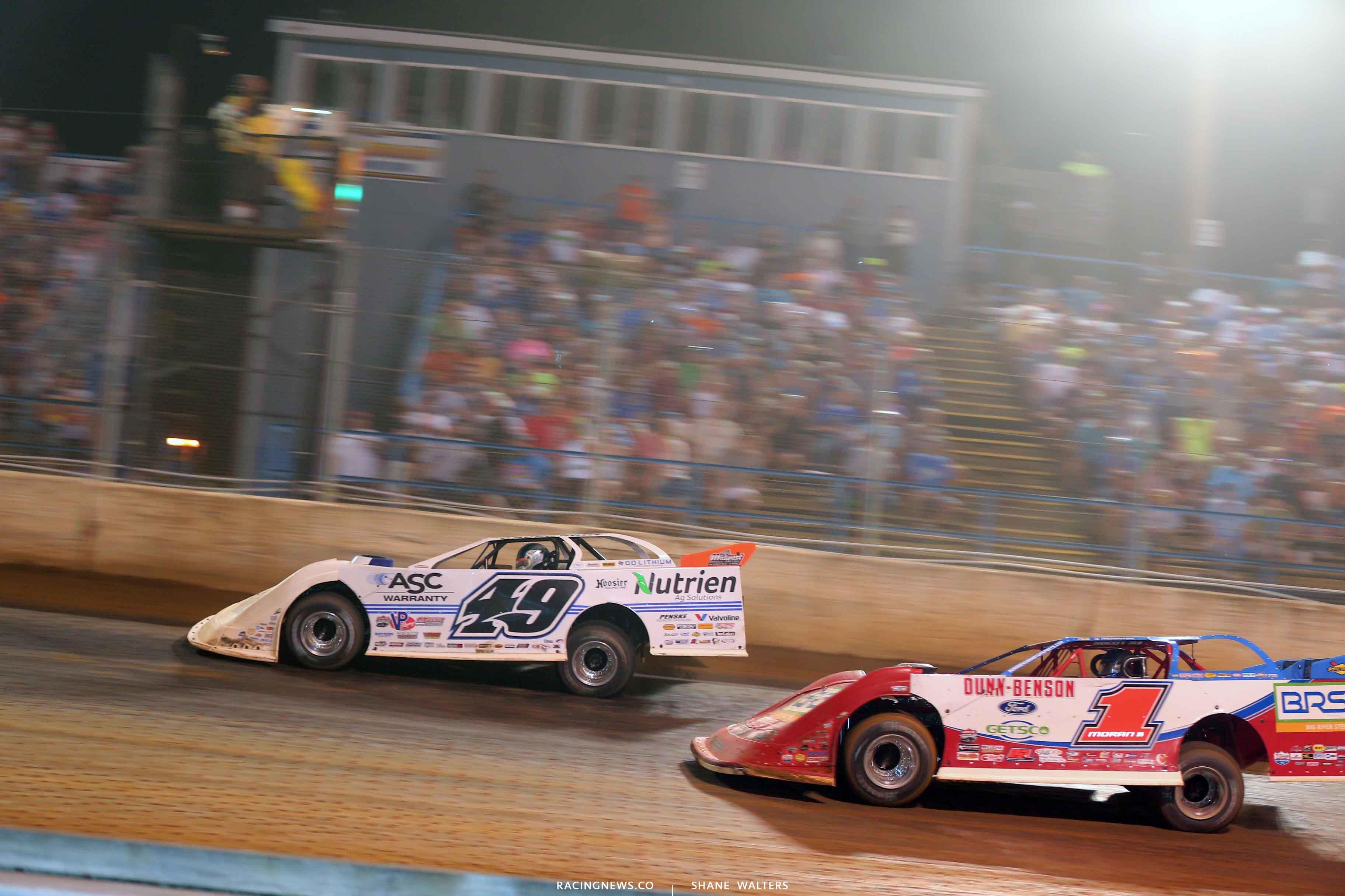 Jonathan Davenport wins at Florence Speedway - Lucas Dirt 7144