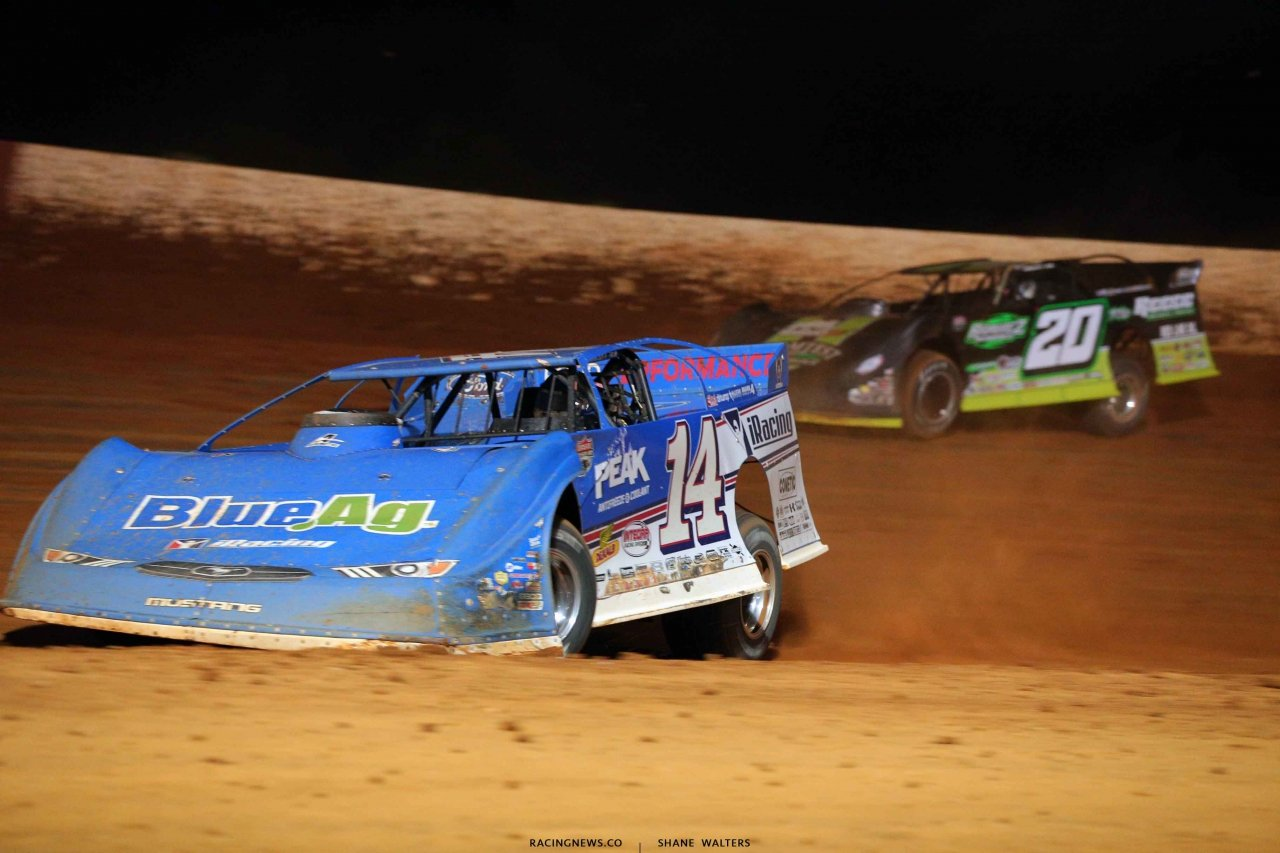 Josh Richards and Jimmy Owens at Smoky Mountain Speedway - LOLMDS 6143