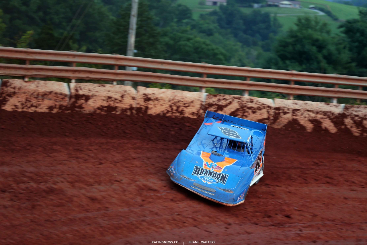 Kyle Bronson at Tazewell Speedway 6339
