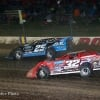 Mason Zeigler and Bobby Pierce at Eldora Speedway