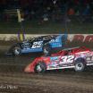 Mason Zeigler and Bobby Pierce at Eldora Speedway
