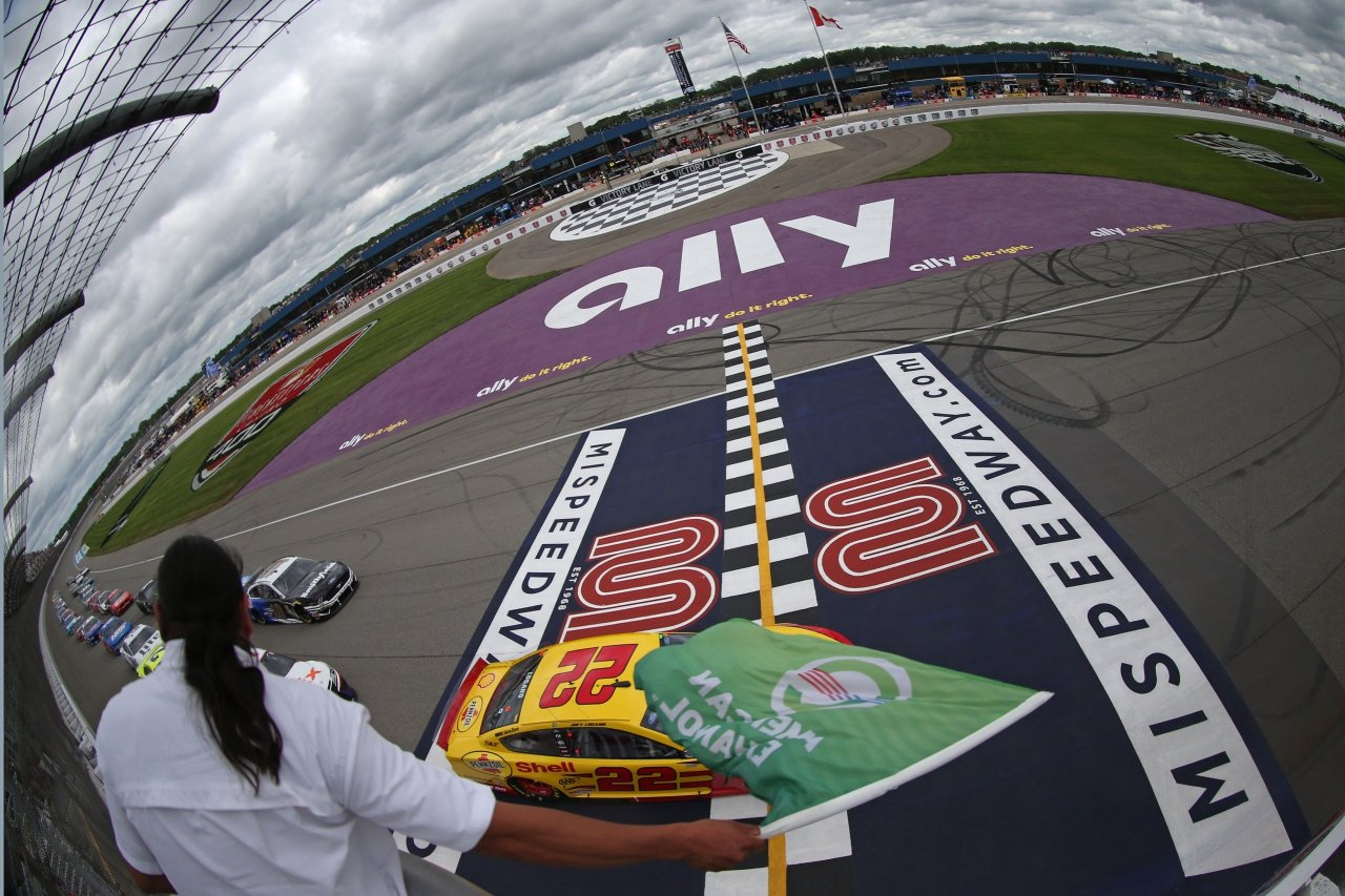Monster Energy NASCAR Cup Series at Michigan International Speedway