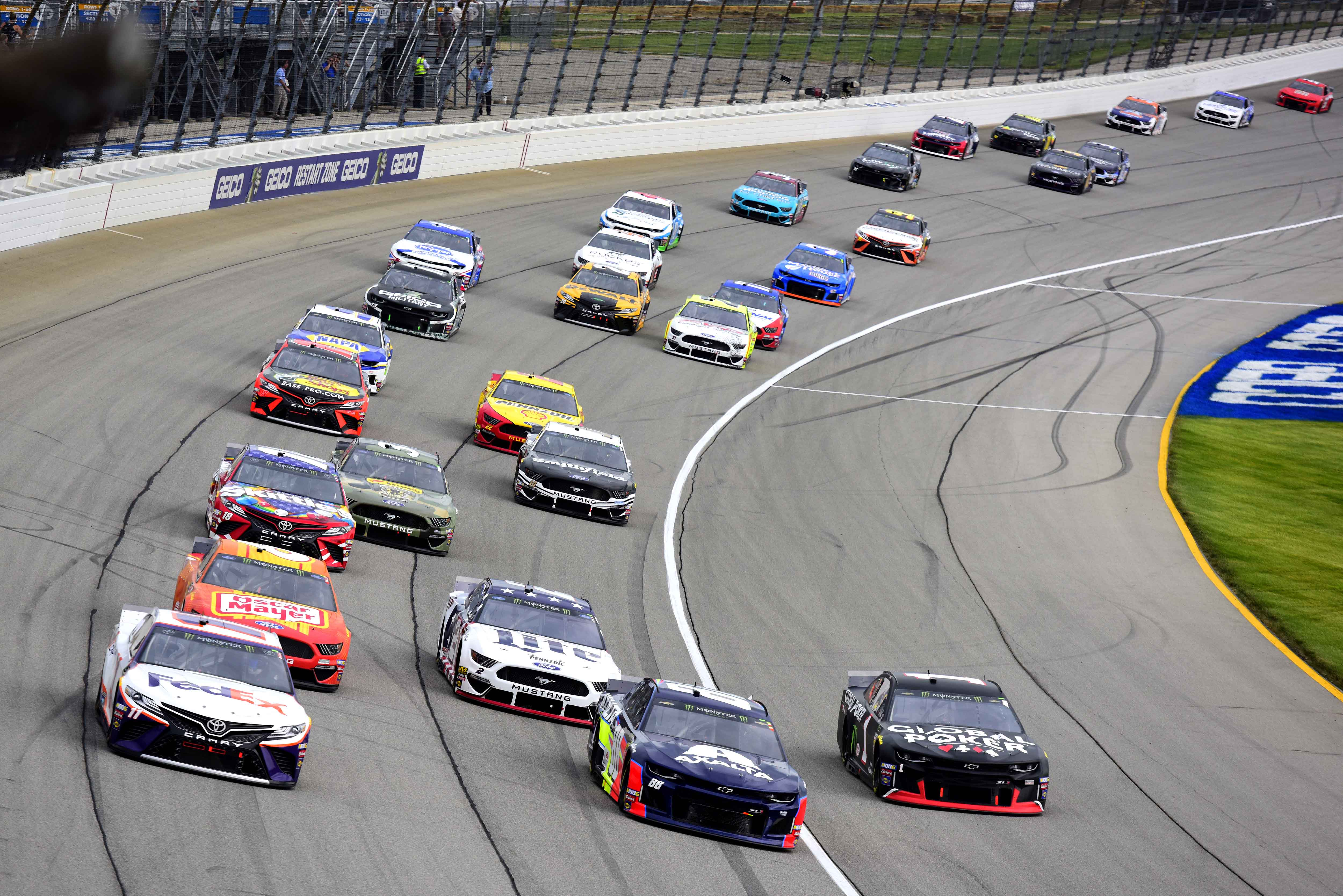 2019 NASCAR Penalties: Ranking the most frequent violators
