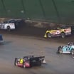 Rain hits Eldora Speedway during heat race