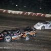 Ricky Weiss and Jonathan Davenport at Eldora Speedway