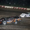 Ricky Weiss and Jonathan Davenport at Eldora Speedway