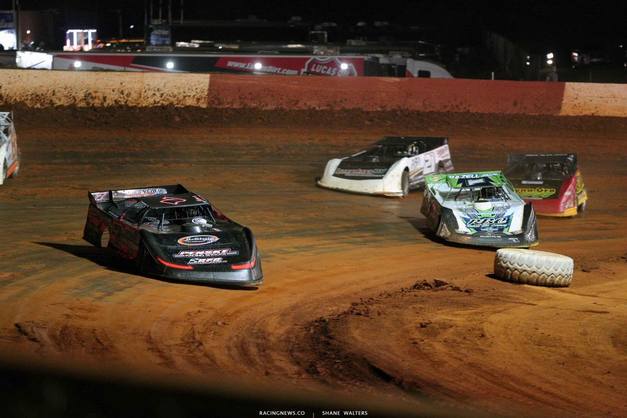 Ricky Weiss and Tyler Erb at Smoky Mountain Speedway - LOLMDS 6032