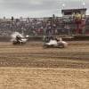Robert Ballou crash at Kokomo Speedway