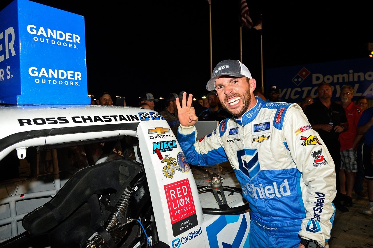 Ross Chastain takes win three
