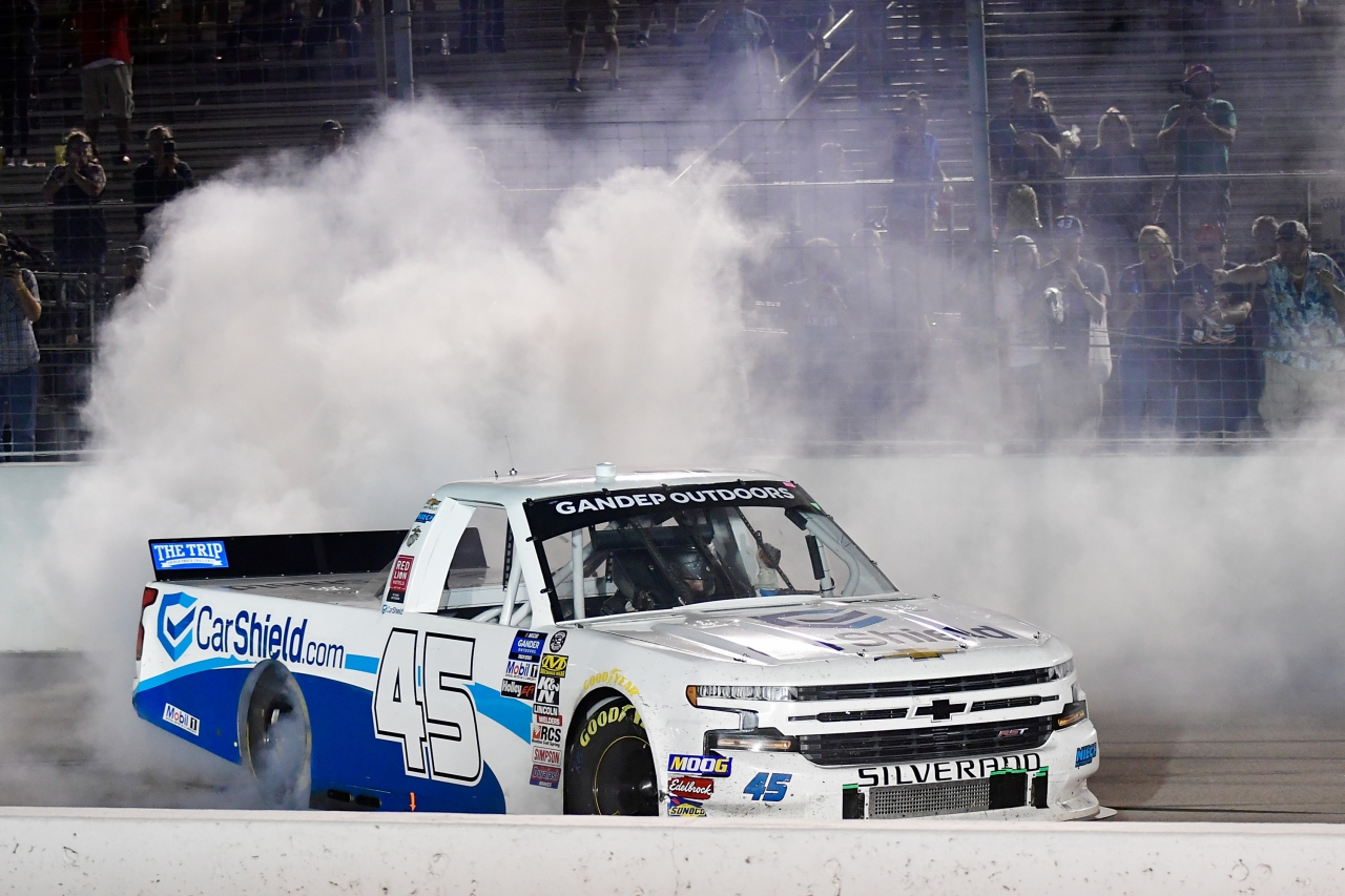 Ross Chastain wins at World Wide Technology Raceway at Gateway