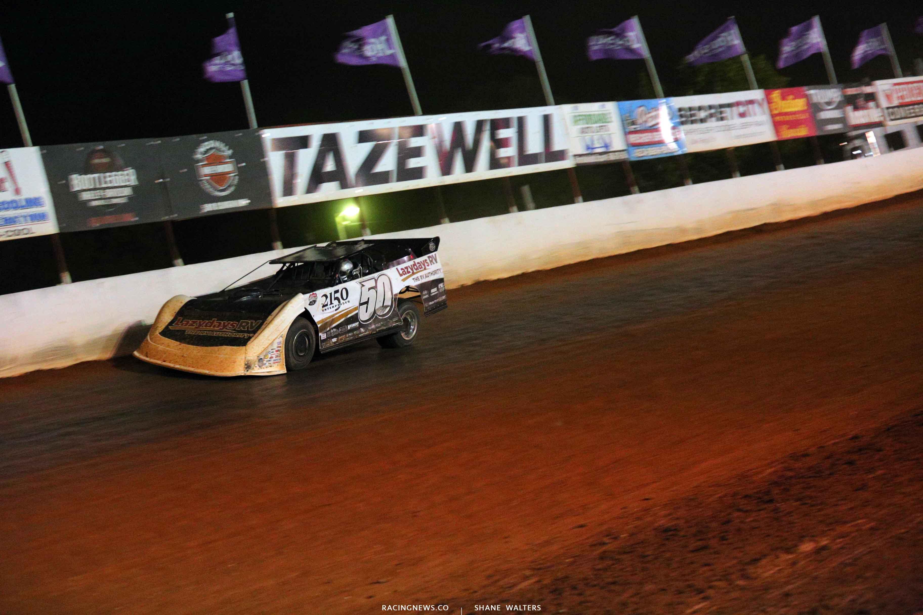 Shanon Buckingham at Tazewell Speedway 6698