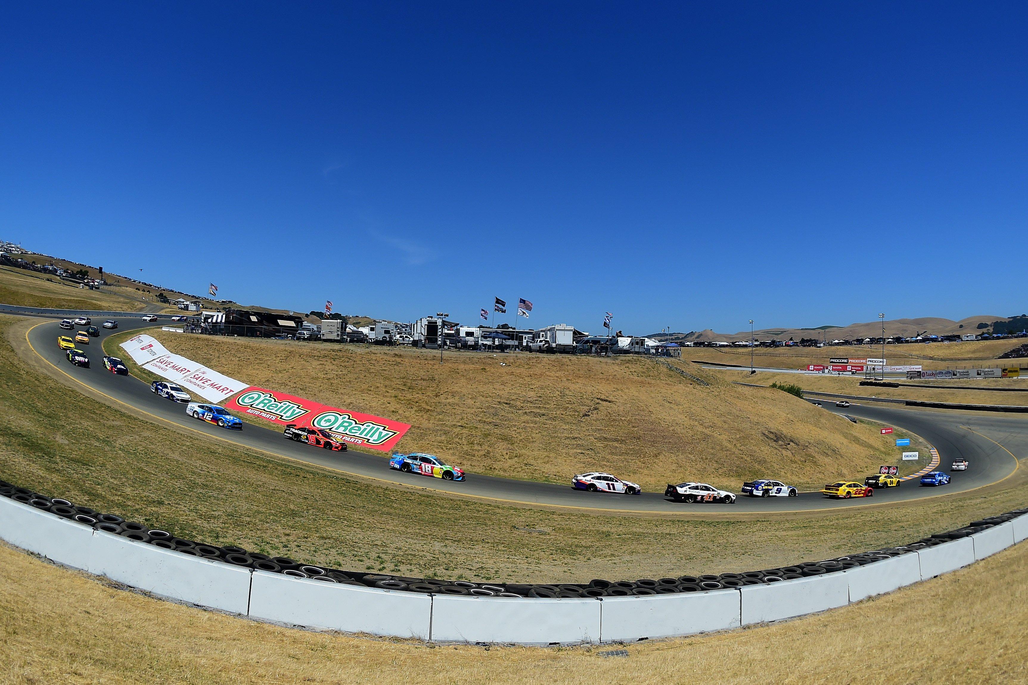 The Carousel at Sonoma Raceway - NASCAR Cup Series