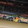 Tyler Erb, Dale McDowell and Shane Clanton at Eldora Speedway