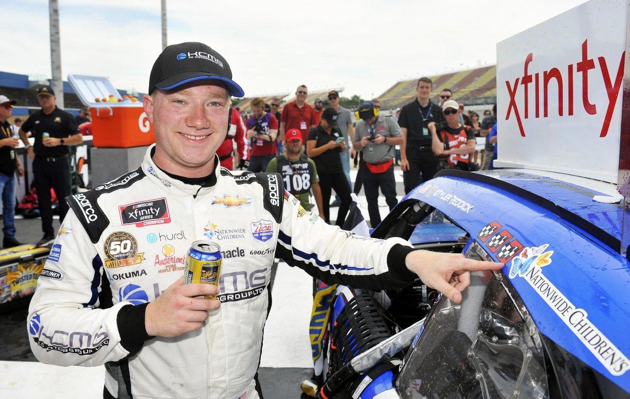 Tyler Reddick wins at Michigan International Speedway