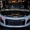Austin Dillon in the NASCAR garage area