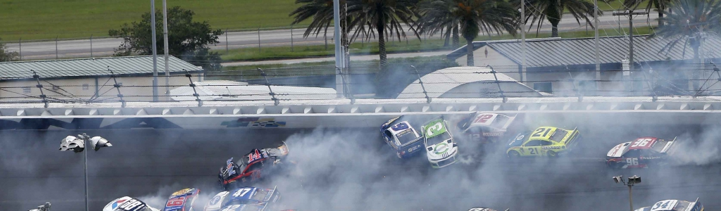 Big Daytona crash takes out half the NASCAR field (Video)