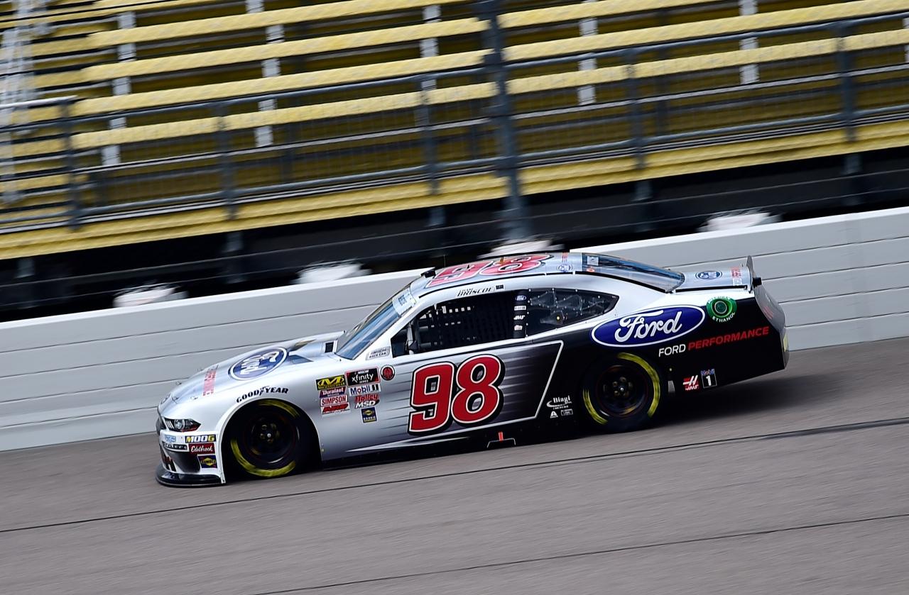 Chase Briscoe at Iowa Speedway