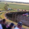 Cody Laney and Earl Pearson Jr in the Silver Dollar Nationals at I-80 Speedway - LOLMDS 2318