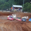 Devin Moran, Billy Moyer Jr, Tim McCreadie and Mike Marlar at Tyler County Speedway - Lucas Dirt 7872