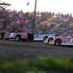 Earl Pearson Jr, Josh Richards, Hudson O'Neal and Gordy Gundaker at Tri-City Speedway - Lucas Oil Late Model Dirt Series 8568