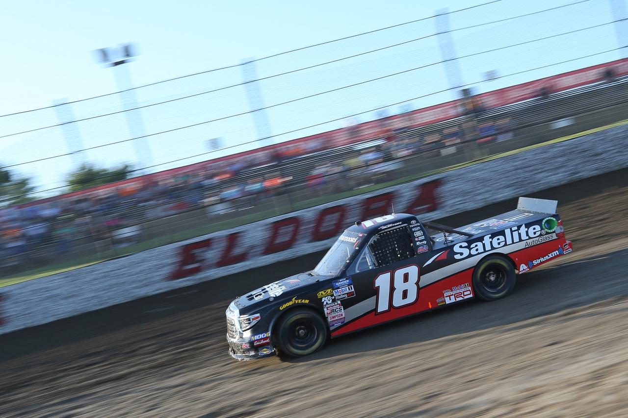 Harrison Burton at Eldora Speedway