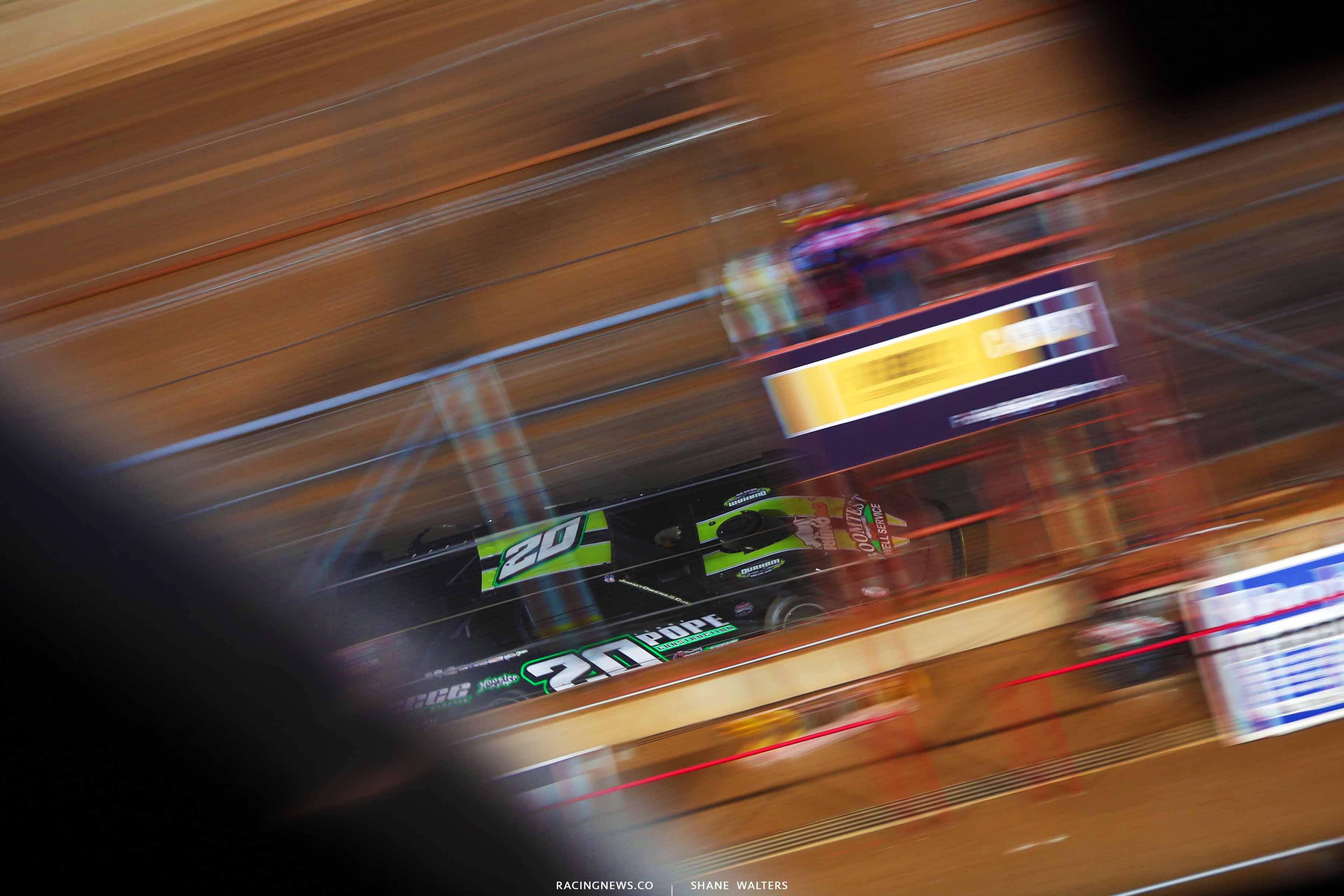 Jimmy Owens wins at Lucas Oil Speedway - Lucas Dirt 0268