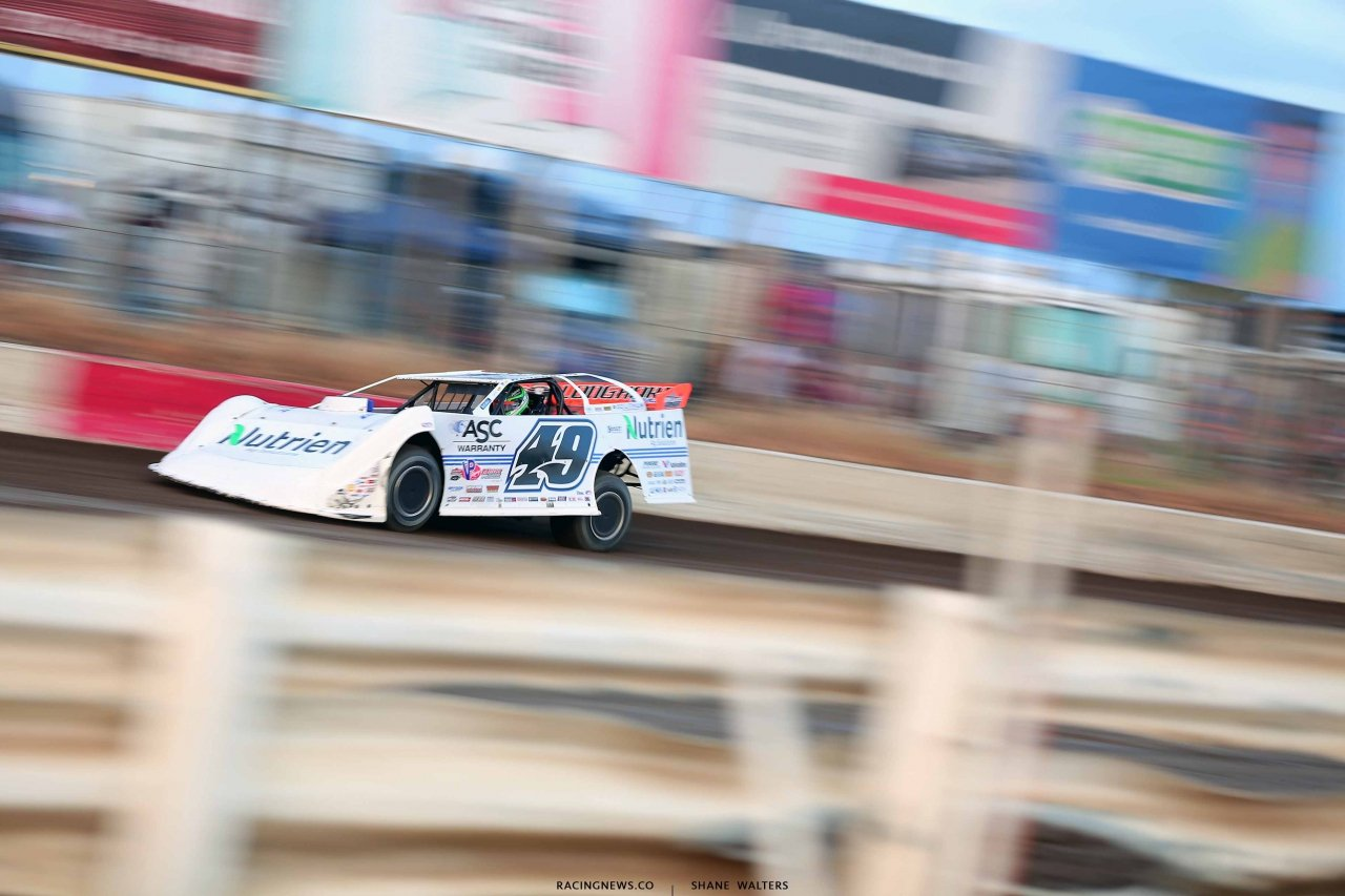 Jonathan Davenport at I-80 Speedway - Lucas Oil Late Model Dirt Series 2746