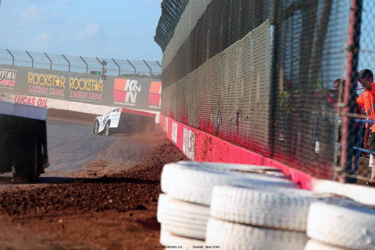 Jonathan Davenport at Lucas Oil Speedway - LOLMDS 0382