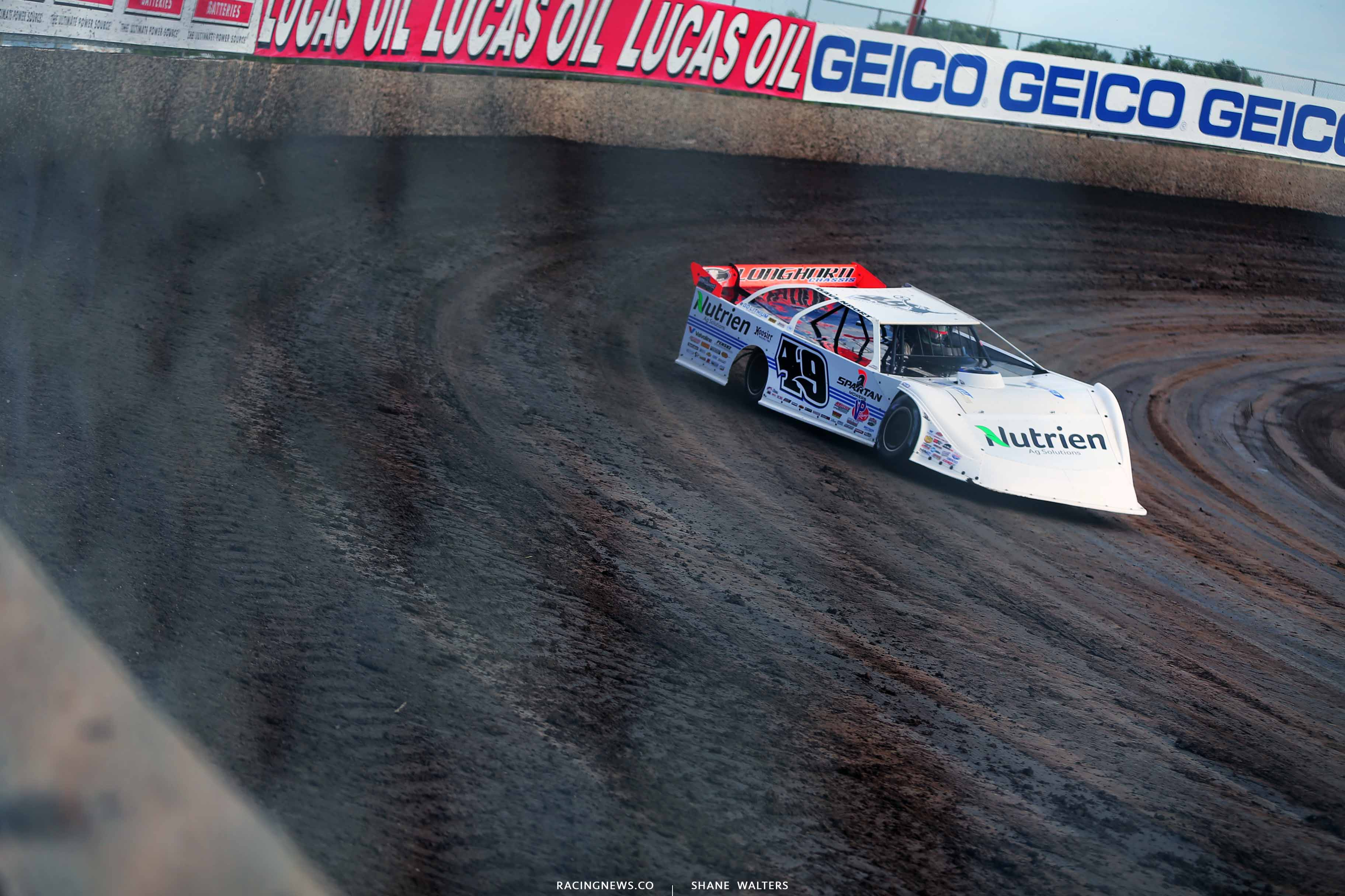 Jonathan Davenport at Tri-City Speedway - Lucas Oil Late Model Dirt Series 8279