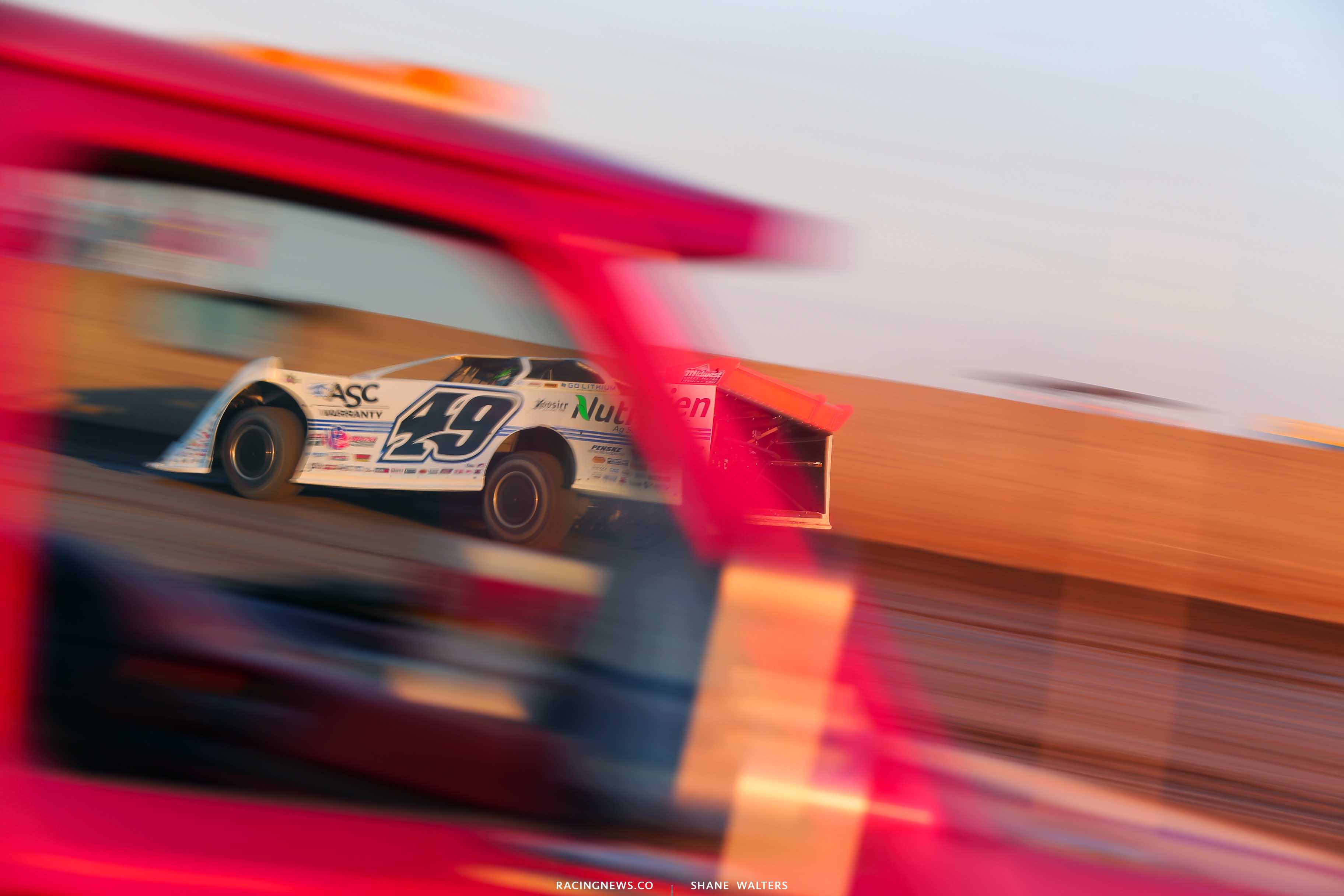 Jonathan Davenport at Tri-City Speedway - Lucas Oil Late Model Dirt Series 9150