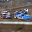 Josh Richards, Chris Ferguson, Jonathan Davenport and Michael Norris at Portsmouth Raceway Park - Lucas Oil Late Models 7383
