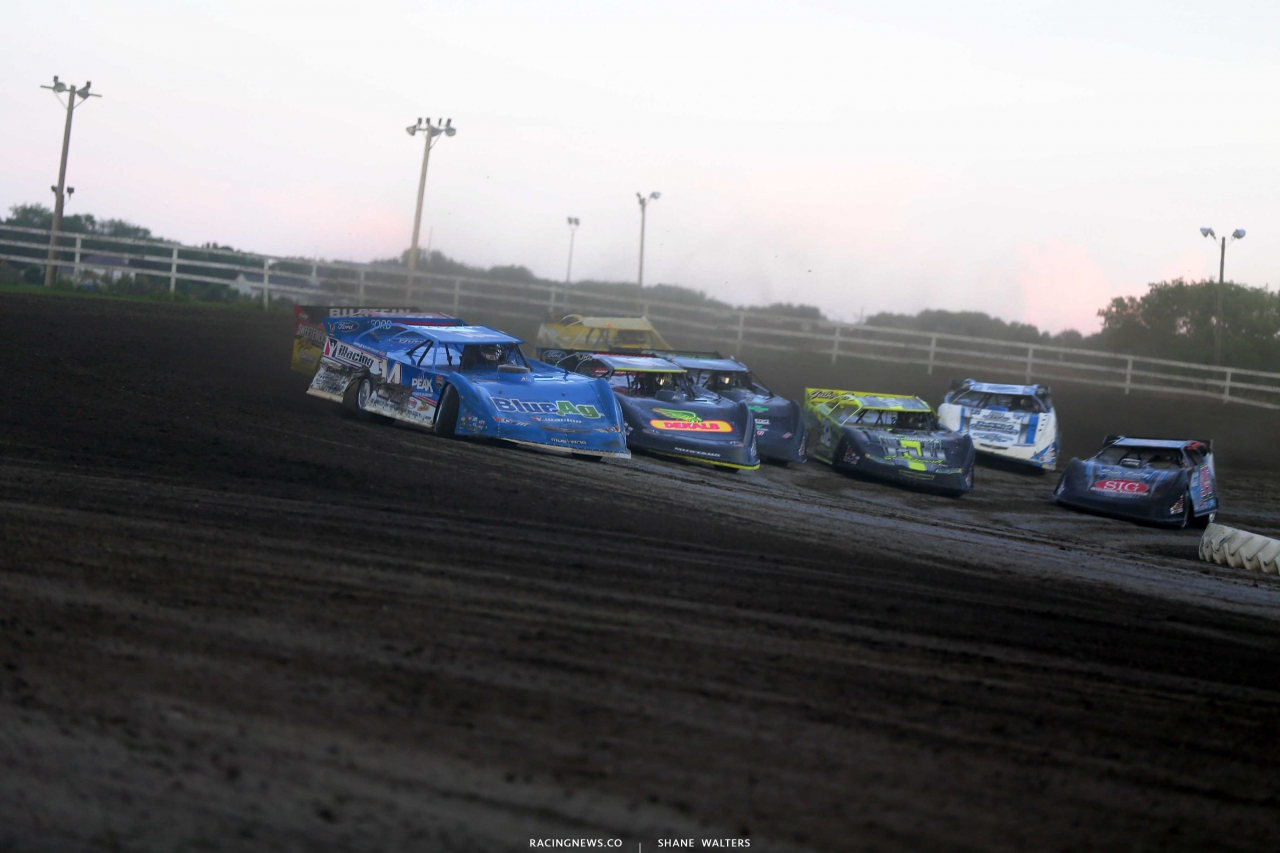 Josh Richards at Brown County Speedway - Lucas Oil Late Models 1289