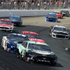 Kevin Harvick, Chase Elliott, Daniel Suarez and Paul Menard at New Hampshire Motor Speedway - NASCAR Cup Series