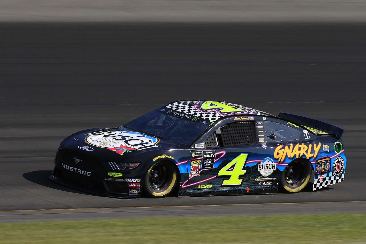 Kevin Harvick - Gnarly Gen X paint scheme at Pocono Raceway