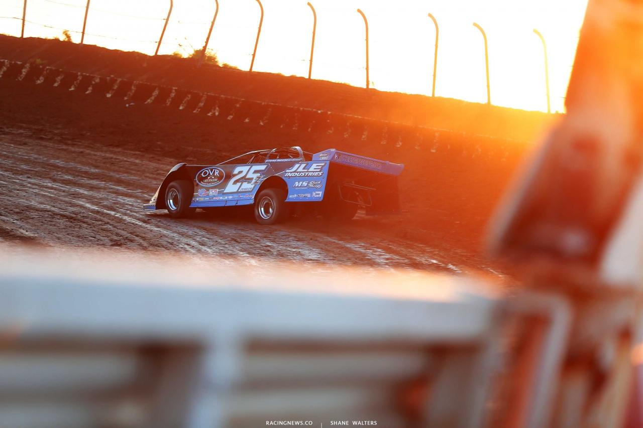 Mason Zeigler at I-80 Speedway - Lucas Oil Dirt Series 2081