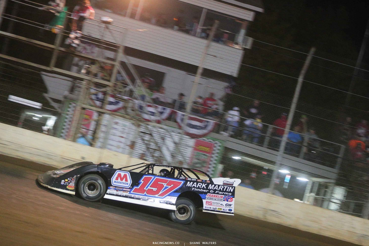Mike Marlar wins at Portsmouth Raceway Park - Lucas Oil Late Model 7589