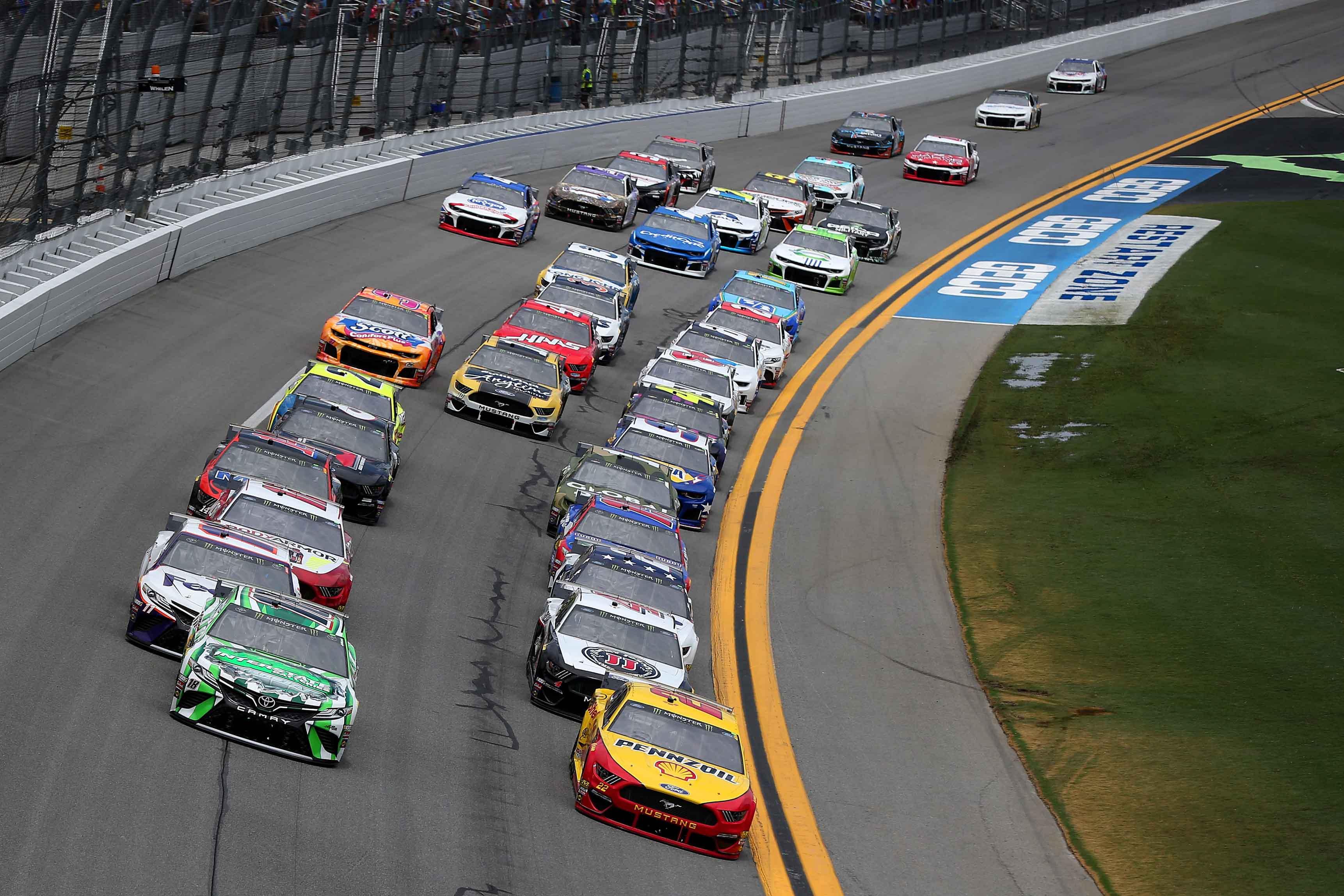 Daytona Dog Track >> Daytona Race Results July 7 2019 Nascar Cup Series Racing News